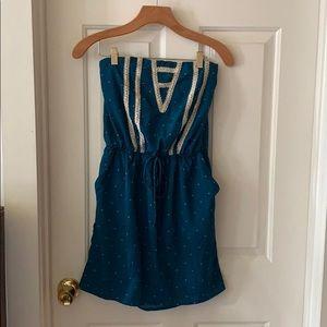 Summer tube dress.